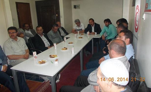 Yavuz Ağıralioğlu'ndan Sendikamız Erzurum İl Temsilciliğine Ziyaret
