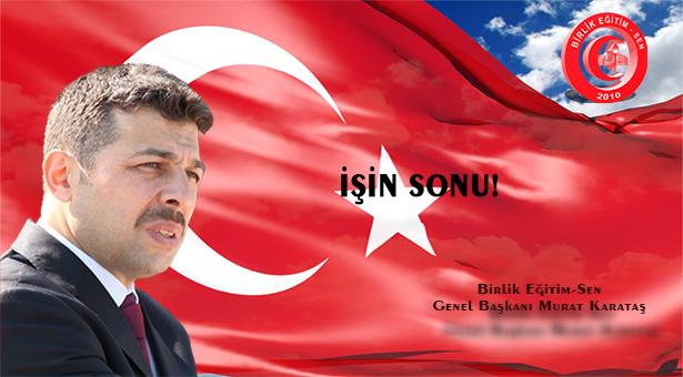 İŞİN SONU!