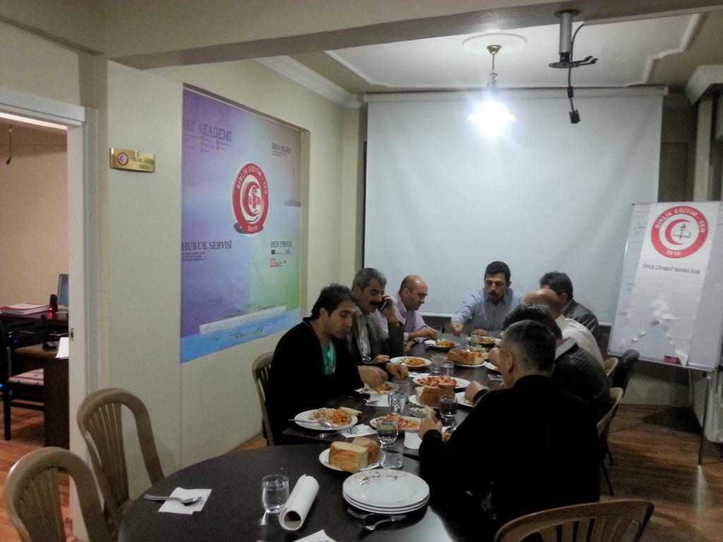 Trabzon İl Teşkilatı Haftalık Toplantısını Gerçekleştirdi