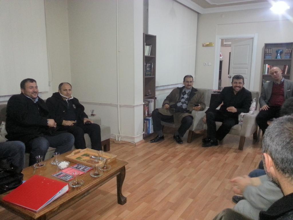 Trabzon İl Teşkilatımız Diva – Sen Trabzon Temsilciliğiyle Buluştu