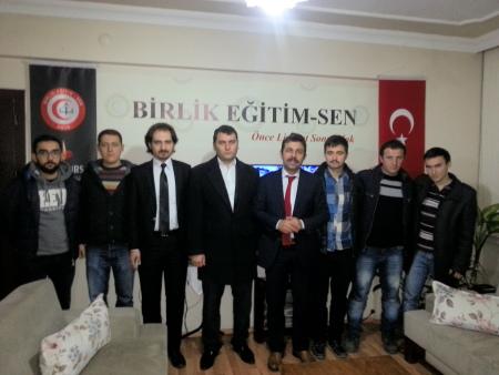 Trabzon Alperen Ocaklarından Genel Merkezimize Ziyaret