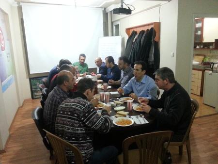 Trabzon İl Temsilciliği Yemekli Toplantı İle Değerlendirme Yaptı