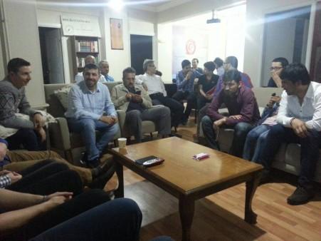 Çarşamba Sohbetlerinde Afganlı Kardeşlerimizle Birlikte