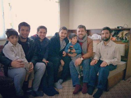 Afganlı aileleri ziyaret..
