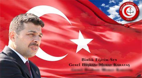 Genel Başkanımız Sayın Murat KARATAŞ'ın Bayram Mesajı.