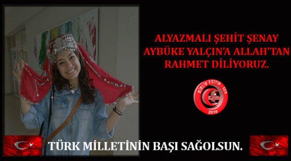 Türk Milletinin Başı Sağolsun.