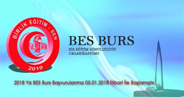 BES BURS Müracaatları Başlamıştır
