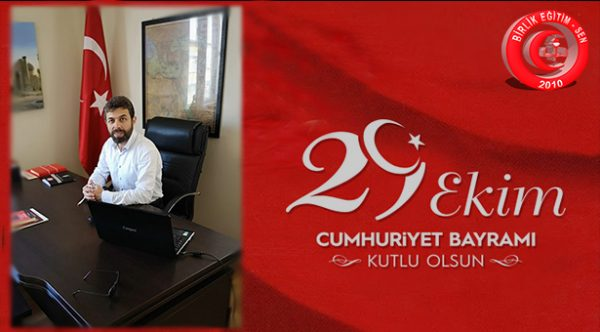Genel Başkan Murat KARATAŞ'ın Cumhuriyet Bayramı Mesajı.
