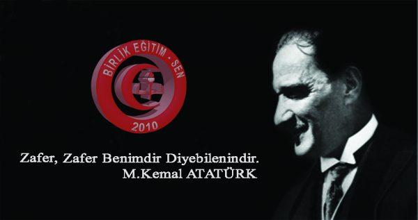 Ölümünün 80. Yılında Gazi Mustafa Kemal Atatürk'ü Rahmetle Anıyoruz.