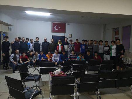 Erzurum İşitme Engelliler Lisesinde Engelleri Aştık… Gençlerimizle kucaklaştık
