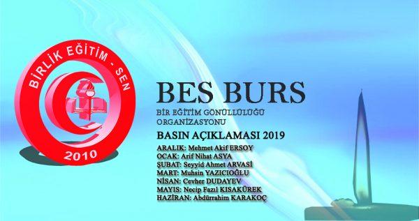BES BURS ÖDEMELERİ