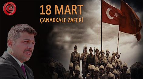 Genel Başkan Murat Karataş'tan Çanakkale Şehitlerini Anma Mesajı…