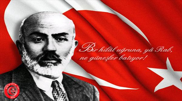 Milli Şairimiz Mehmet Akif Ersoy'u Rahmetle Anıyoruz.