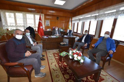 Genel Başkandan  Orman Bölge Müdürlüğüne Ziyaret